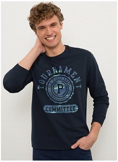U.S. Polo Assn. U.S. Polo Assn.  Lacivert Erkek Sweatshirt Lacivert